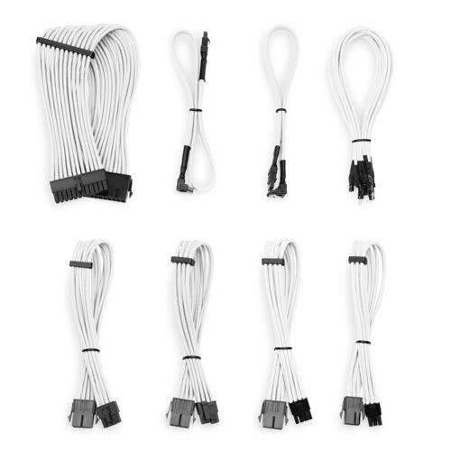 CSL »Kabel Sleeve Set« Computer-Kabel, SATA, (30 cm), weiß