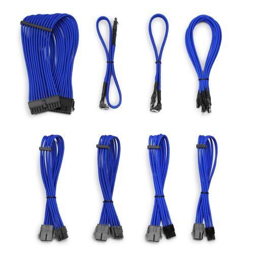 CSL »Kabel Sleeve Set« Computer-Kabel, SATA, (30 cm), blau
