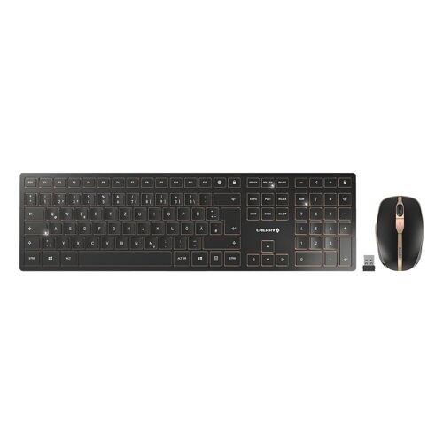 Cherry »DW 9000 SLIM« Wireless-Tastatur (Tastatur-Maus-Set)