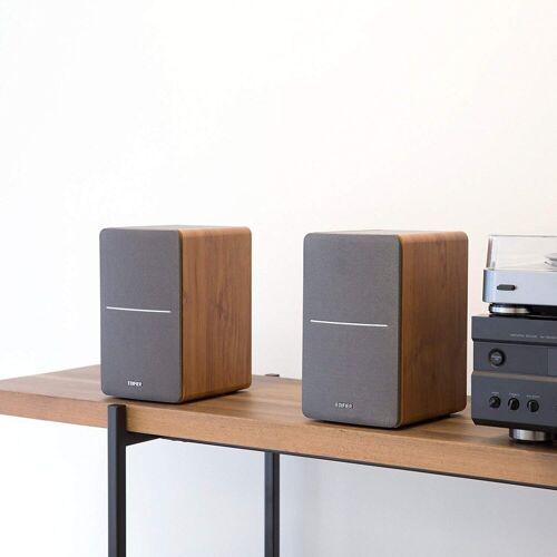 Edifier® P12 Passives Regallautsprecher Set holz Regal-Lautsprecher