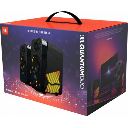 JBL Quantum Duo 2.0 PC-Lautsprecher (Bluetooth)