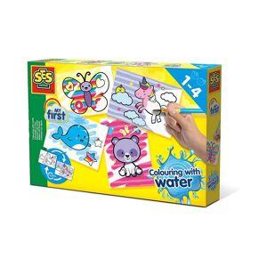 Creative SES Creative Malvorlage »Malen mit Wasser - Fantasietiere«