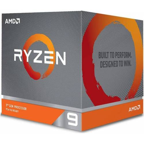 AMD Prozessor »Ryzen 9 3900X Box AM4 (3,800GHz) with Wraith Spire cooler with RGB LED«