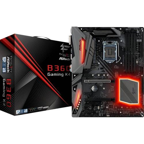 ASRock »Fatal1ty B360 Gaming K4« Mainboard RGB LED