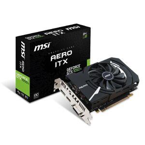 MSI »GeForce® GTX 1050 Ti 4GB Aero ITX OCV1« Grafikkarte (4 GB, GDDR5)