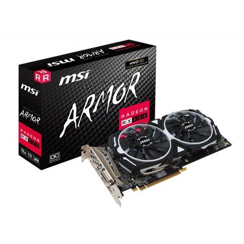 MSI VGA Radeon RX 570 ARMOR 8G OC Grafikkarte (8 GB, GDDR5, TORX Fan)