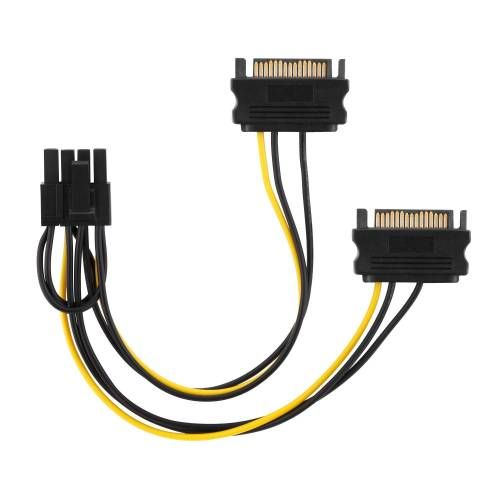 adaptare »35109 Grafikkarten-Stromkabel 2-mal SATA-« Computer-Kabel