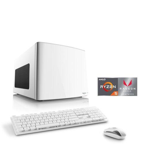 CSL Gaming Box T8681 Wasserkühlung PC (AMD Ryzen 5, Radeon Vega 11, 16 GB RAM, 2000 GB HDD, 500 GB SSD, Wasserkühlung)