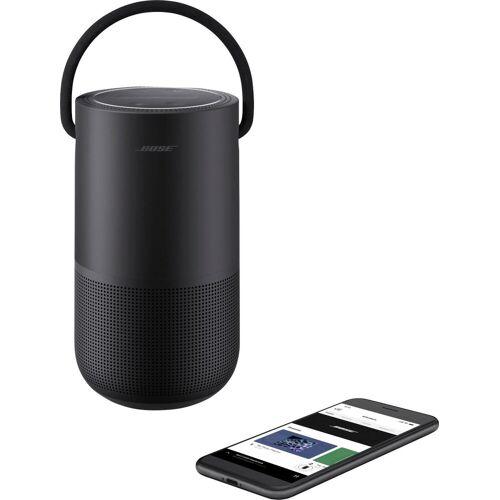 Bose Portable Home Speaker Bluetooth-Lautsprecher (WLAN (WiFi), Bluetooth), schwarz