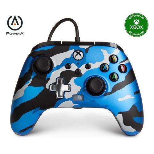 PowerA »XBX Wired Controller Metallic Camo« Xbox-Controller, Blau