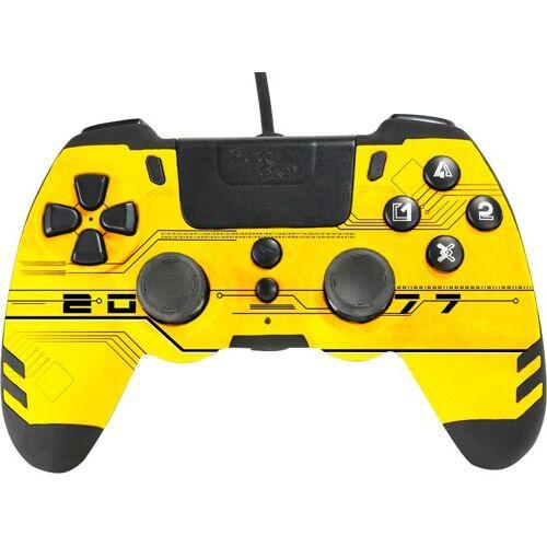 Steelplay »Metaltech Gelb PS4« Gaming-Controller