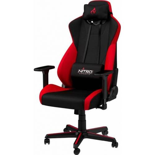 NITRO CONCEPTS Gaming-Stuhl »S300 Gaming Chair« Bürostuhlzertifizierung DIN EN 1335, rot