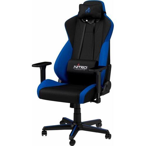 NITRO CONCEPTS Gaming-Stuhl »S300 Gaming Chair« Bürostuhlzertifizierung DIN EN 1335, blau