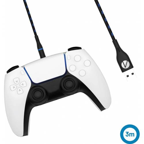 Stealth »PS5 Twin Play & Charge Kabel - magnetisch (2x 3m USB-C)« USB-Kabel, USB-C, (300 cm)
