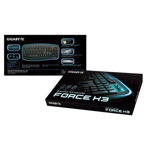 Gigabyte »schwarz, USB« Gaming-Tastatur