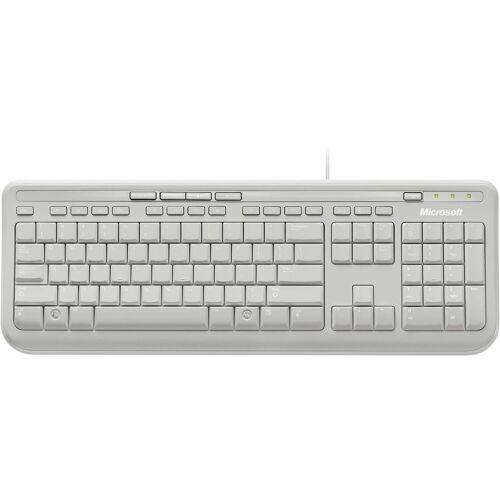 Microsoft »Wired Keyboard 600« Tastatur, weiß