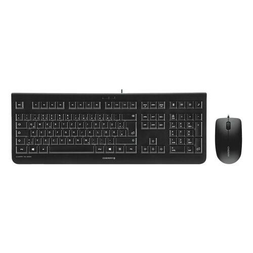 Cherry »DC 2000« Tastatur (Tastatur-Maus-Set)