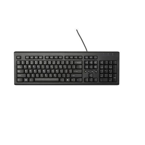 HP Classic Tastatur mit Kabel »Classic Tastatur«, schwarz