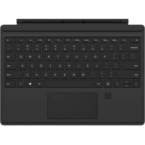 Microsoft »Surface Pro Type Cover mit Fingerprint ID« Tastatur