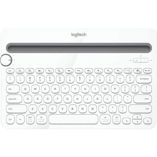 Logitech »Bluetooth Multi-Device Keyboard K480 Black« PC-Tastatur, weiß