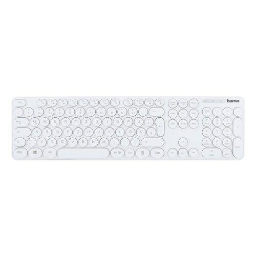 Hama »KC-500 weiß« Tastatur, weiß
