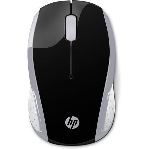 HP Wireless Mouse 200 »kostengünstige Wireless-Maus«, silber