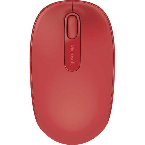Microsoft »Wireless 1850 Mobile« Maus (Funk), rot