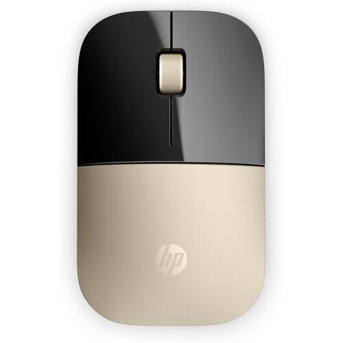 HP Z3700 Wireless-Maus »Design mit Flair - 2,4-GHz-Wireless-Verbindung«, gold