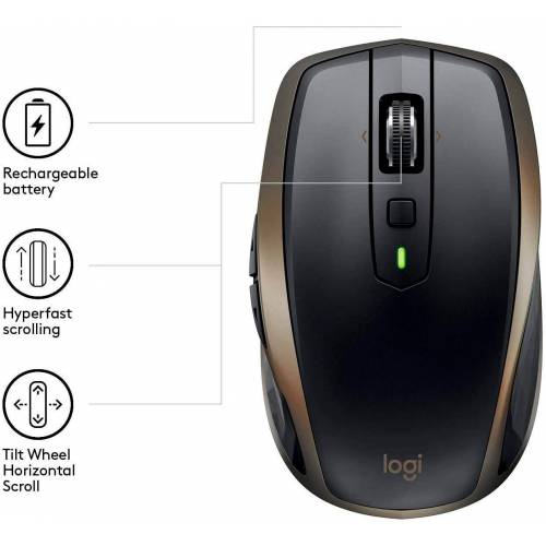 Logitech »MX Anywhere 2 Wireless Mobile Mouse - OEM« Maus