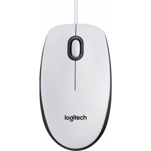 Logitech »Mouse M100« Maus, weiß