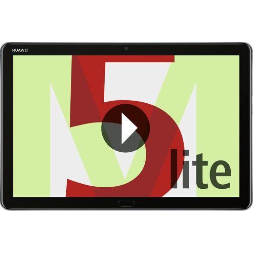 """Huawei Tablet »Mediapad M5 Lite 10"""" LTE 25,4 cm)«, Grau"""