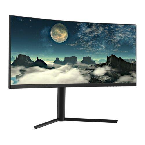 "LC-Power LC-M29-UW-UXGA-100-C Curved-Gaming-Monitor (73,66 cm/29 "", 2560 x 1080 Pixel, UW-UXGA, 100 Hz, 29"" Curved PC Gaming Monitor, UW-UXGA, 2560 x 1080 Pixel, 21:9 UltraWide, VA-Panel (Samsung), 100 Hz, höhenverstellbar, Kontrast 3000:1, Free"