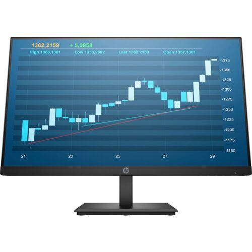 HP P244 Monitor »60,45 cm (23,8) Full HD Monitor, 5 ms«, schwarz, Energieeffizienzklasse A+