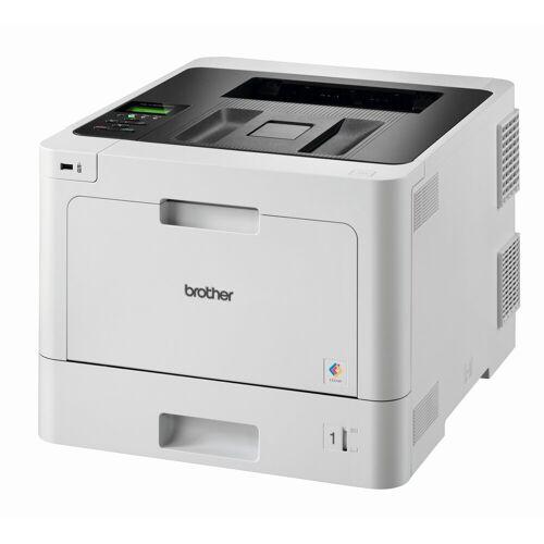 Brother Laserdrucker- 3 abschl. Papierkassetten Laserdrucker, (WLAN (Wi-Fi), LAN (Ethernet), NFC)