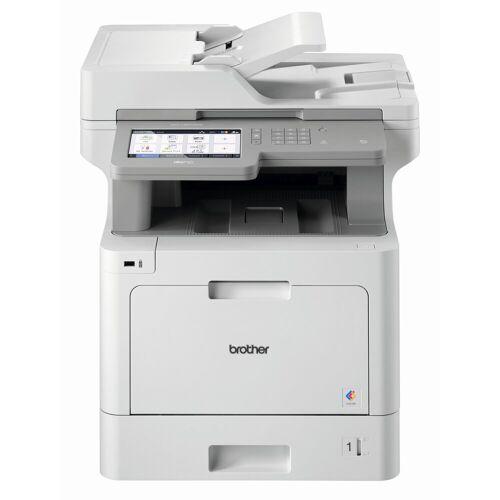 Brother WLAN 4-in-1 Farblaser-Mulitfunktionsdrucker Laserdrucker, (WLAN (Wi-Fi), NFC, LAN (Ethernet)