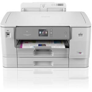 Brother Tintenstrahldrucker »HL-J6000DW DIN A3 Tintenstrahldrucker«, Hellgrau
