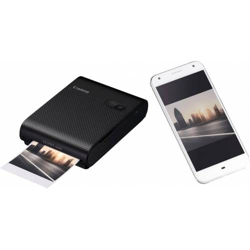 Canon SELPHY Square QX10 Fotodrucker, (WLAN (Wi-Fi), schwarz