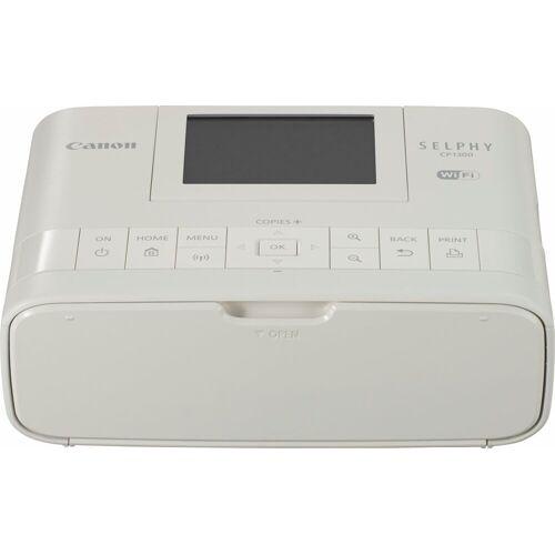Canon SELPHY CP1300 Fotodrucker, (WLAN (Wi-Fi), NFC), weiß