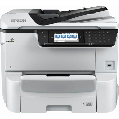Epson WorkForce Pro WF-C8610DWF Multifunktionsdrucker »Tintenstrahldrucker«, silber