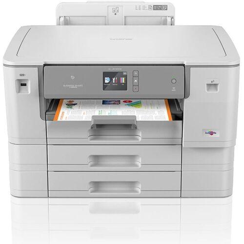 Brother Tintenstrahldrucker »HL-J6100DW DIN A3 Tintenstrahldrucker«, Hellgrau