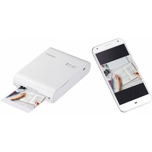 Canon SELPHY Square QX10 Fotodrucker, (WLAN (Wi-Fi), weiß