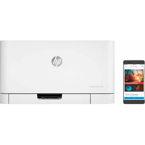 HP Color Laser 150nw Farblaserdrucker, (LAN (Ethernet), WLAN (Wi-Fi)