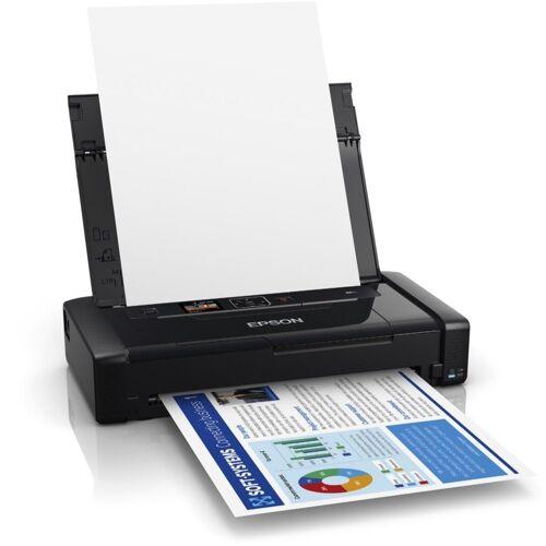 Epson WorkForce WF-110W - Tintenstrahldrucker - schwarz Tintenstrahldrucker, (WLAN (Wi-Fi)