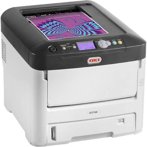 Oki C712n, USB/LAN Multifunktionsdrucker