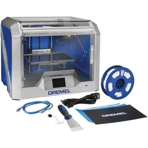 DREMEL 3D-Drucker »3D40«, Druckbereich: 254 x 152 x 171 mm, blau