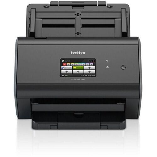 Brother Dokumentenscanner »Dokumentenscanner ADS-2800W«, Schwarz