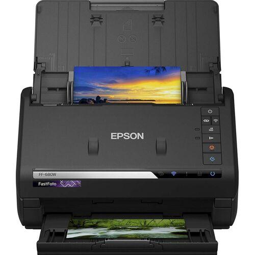 Epson FastFoto FF-680W Scanner »WLAN Scanners«, schwarz