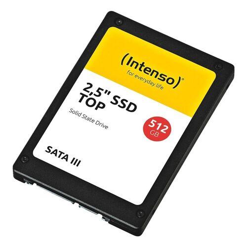 Intenso »SATA III Top« SSD-Festplatte (512) 490 MB/S Lesegeschwindigkeit, 520 MB/S Schreibgeschwindigkeit, Schnittstelle: SATA III)