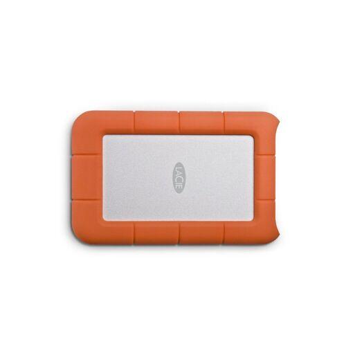 "LaCie Rugged Mini, 1 TB, tragbare externe Festplatte »2.5"", USB 3.0, für Mac & PC«, orange"