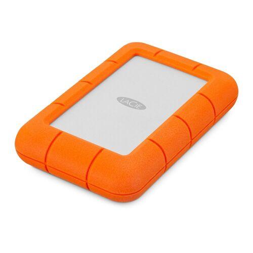 "LaCie Rugged Mini, 4 TB, tragbare externe Festplatte »2.5"", USB 3.0, für Mac & PC«, orange"